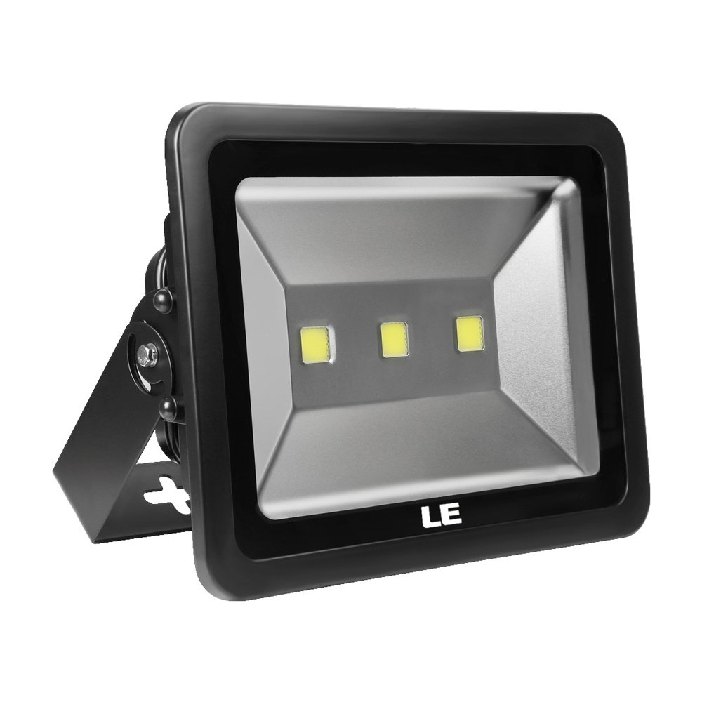 LE 150W Super Bright Outdoor LED Flood Lights, 400W HPS