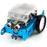 Makeblock mBot Bluetooth Version - STEM Education - Arduino - Scratch 2.0 - Programmable Robot Kit for Kids to Learn Coding, Robotics and Electronics (Blue)