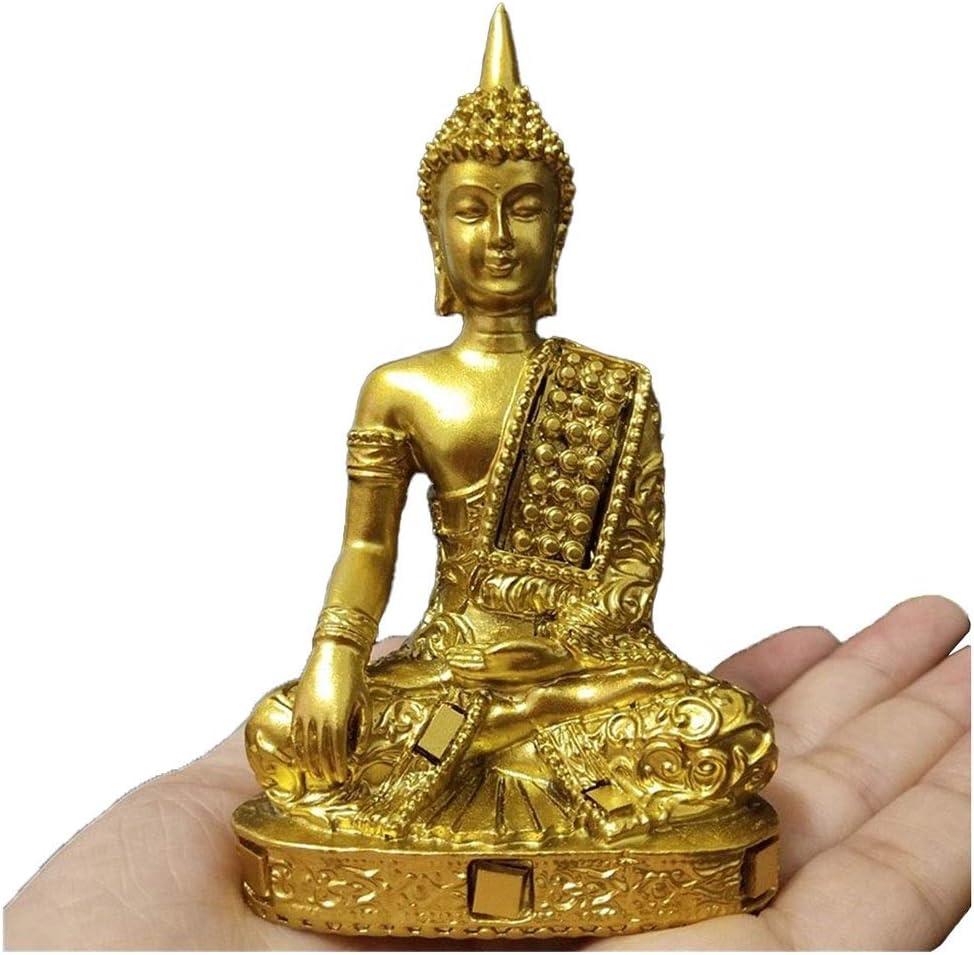 Amazon Com Ateyc Buddha Statue Thailand Fengshui Meditation Buddha Sculpture Figurines Ornaments Home Garden Decoration Statues Home Kitchen