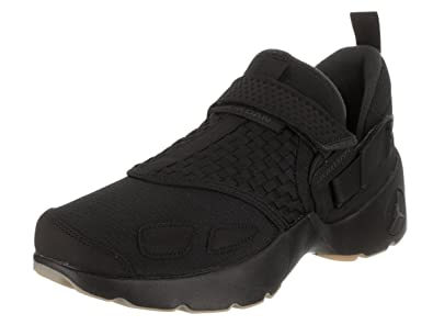 wholesale dealer 9b701 f431d Image Unavailable. Image not available for. Color  Jordan Mens Trunner LX  Black Anthracite Gum Yellow Size 8