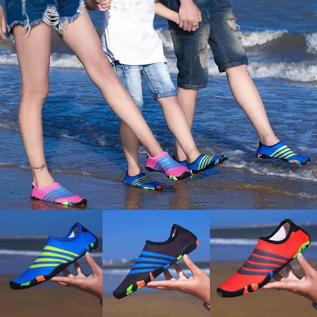 Zapatos De Agua, Zapatillas De Esnórquel En La Playa para Hombres ...