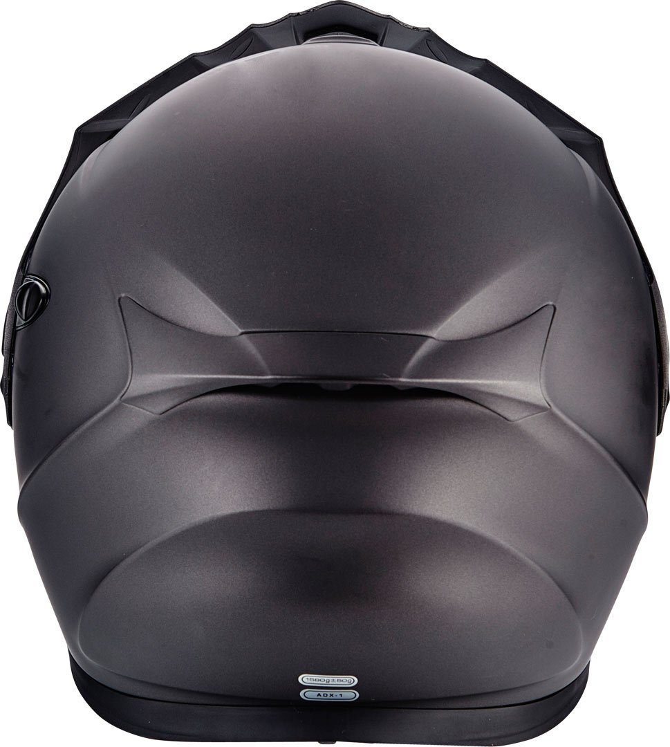 M Casco para Moto ADX-1 Scorpion antracita mate