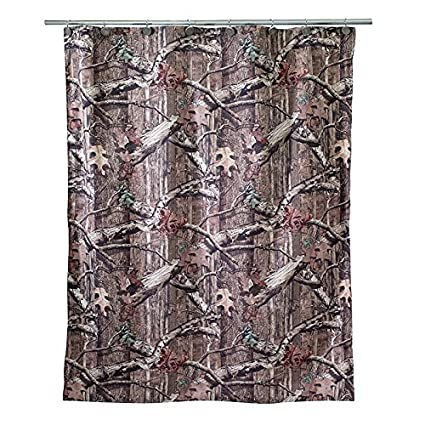 Image Unavailable Not Available For Color Avanti Mossy Oak Shower Curtain Multicolored