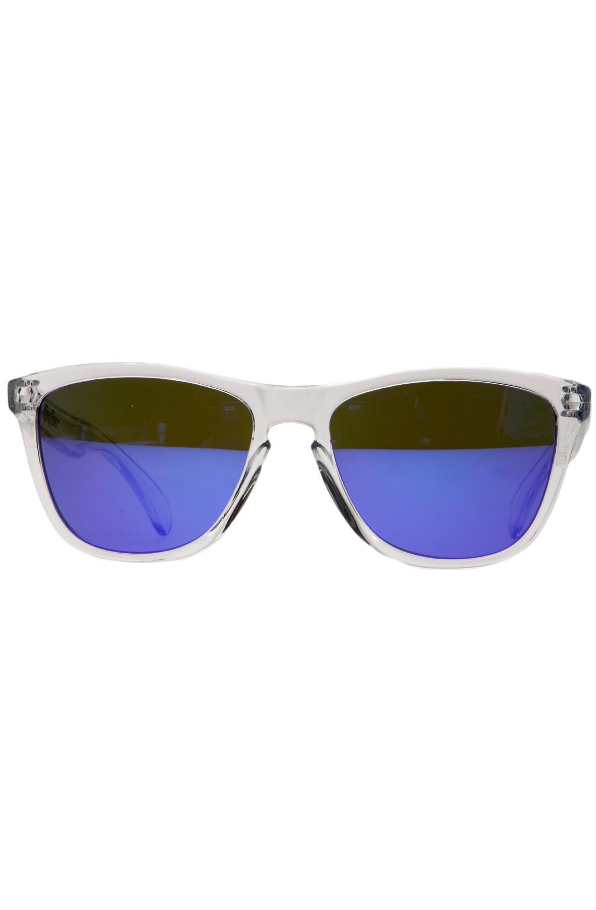 OAKLEY Oakley Frogskin Sunglasses One Size Clear by Oakley