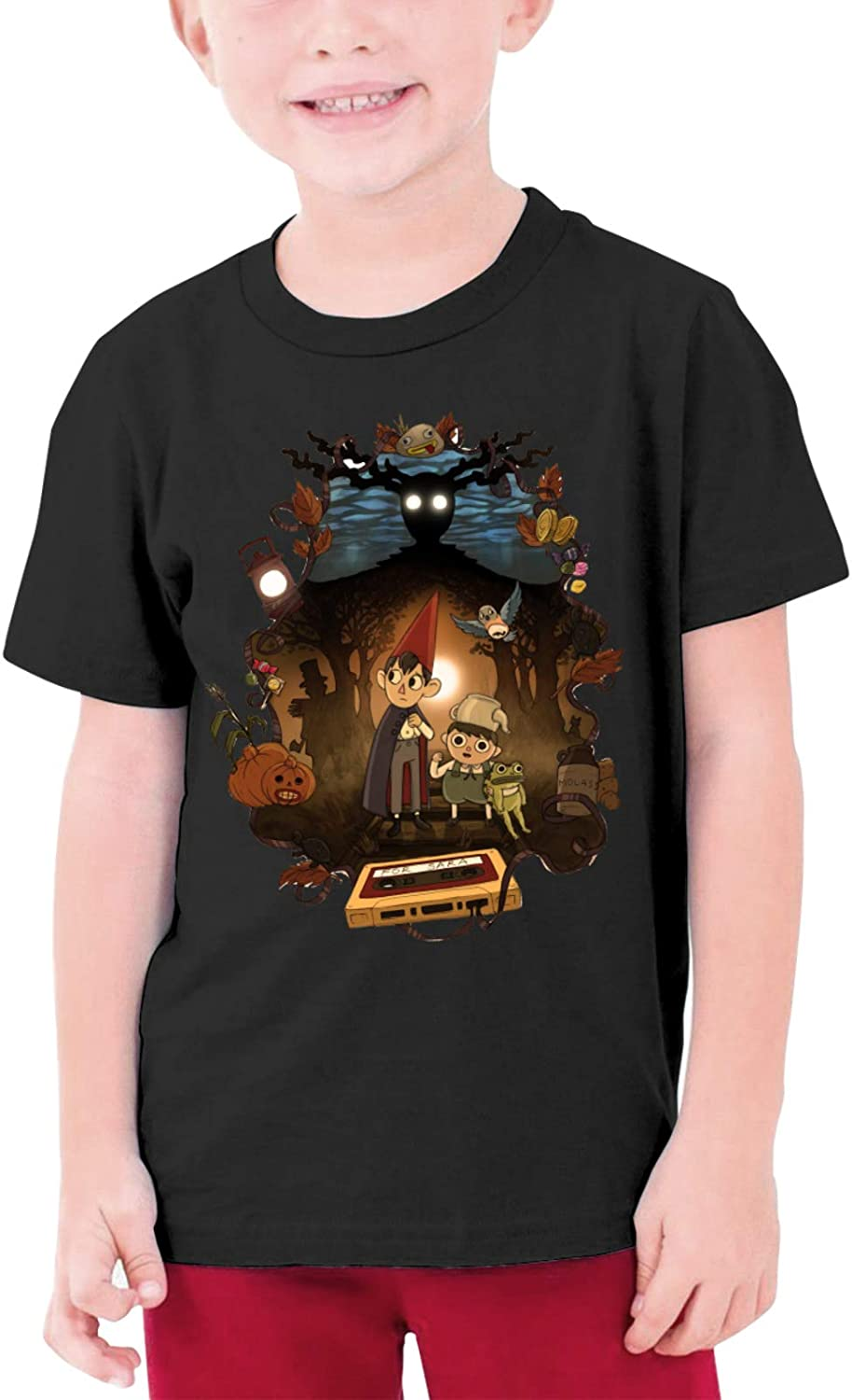 Over The Garden Wall T Shirts Youth Round Neck Shirt Teenager Pattern Boys Personality Tees