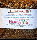 Herbs By Merlin HEADACHE TEA Organic Loose Leaf Tea 3 oz Review