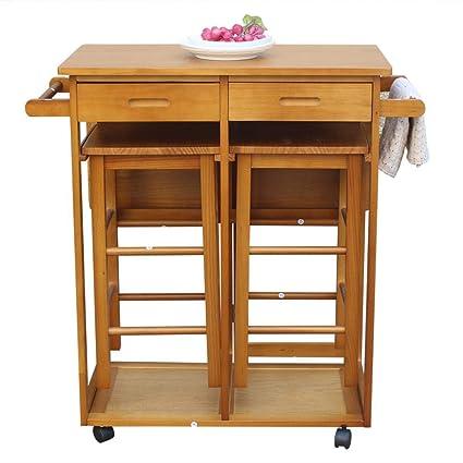 Marvelous Amazon Com Kitchen Furniture Wooden Rolling Kitchen Download Free Architecture Designs Scobabritishbridgeorg