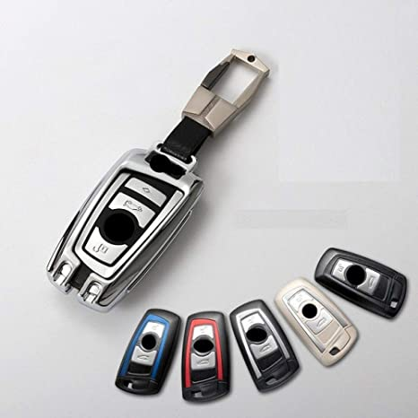 FGJIHB Caso claveCar Styling Car Key Case Cover Fob Llavero ...