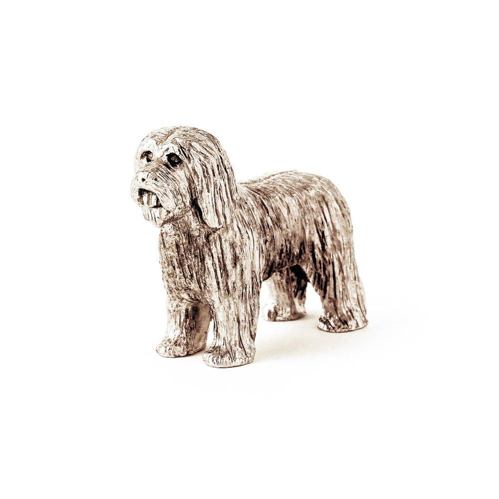 Bearded Collie Hergestellt in U.K. Kunstvolle Hunde- Figur Sammlung