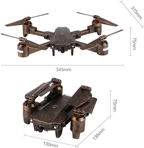 Attop X-PACK1 RC Drone 720P Cámara Gran Angular WiFi FPV Plegable Quadcopter ToGames-ES: Amazon.es: Juguetes y juegos