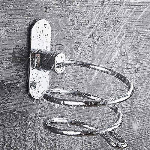 Fishyu ❤❤ Porta Phon Supporto per Paret Acciaio Inox Lunga Durata per Sala da Bagno Casa