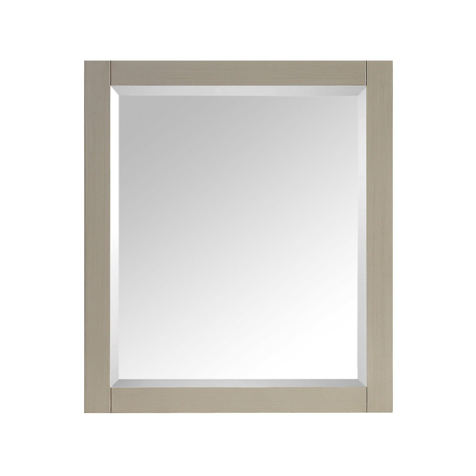 Avanity 28 in. Mirror for Delano in Taupe Glaze finish