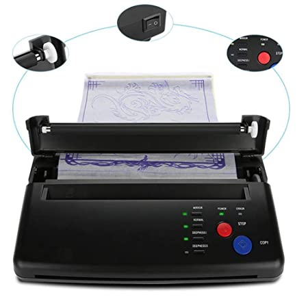Máquina de papel de plantilla térmica de copiadora profesional ...