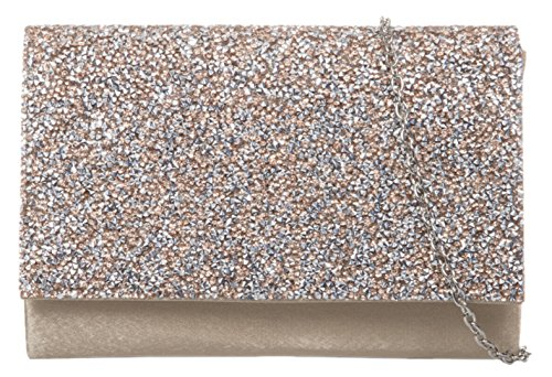 Champagne Bag Clutch Diamante Handbags Girly xBqnaROf