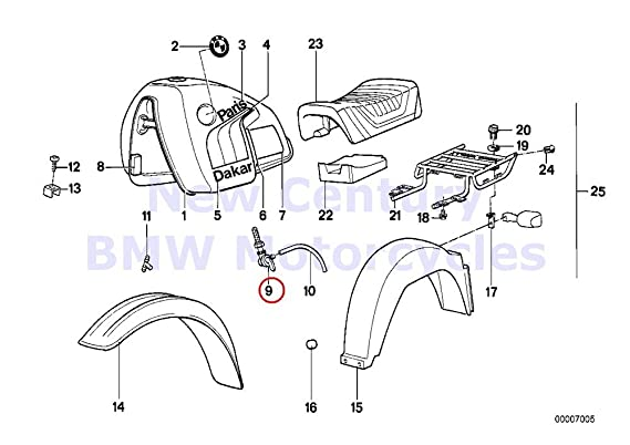 Amazon Com Bmw Genuine Motorcycle Fuel Tank Tap Right R80gs R80st
