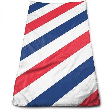 Dutars Toalla de baño Multiusos de Microfibra con diseño de barbería, Toallas de Mano, ...