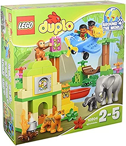 Amazoncom Lego Duplo Jungle Set Age 2 5 86 Pieces 10804