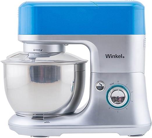 Winkel RX80 RX80-Robot de Cocina multifunción, batidora amasadora, Color Azul, 650 W: Amazon.es: Hogar