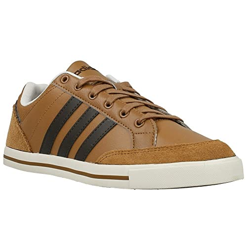 Buy Adidas NEO Men Brown Cacity Leather Casual Shoes (9UK) at ...