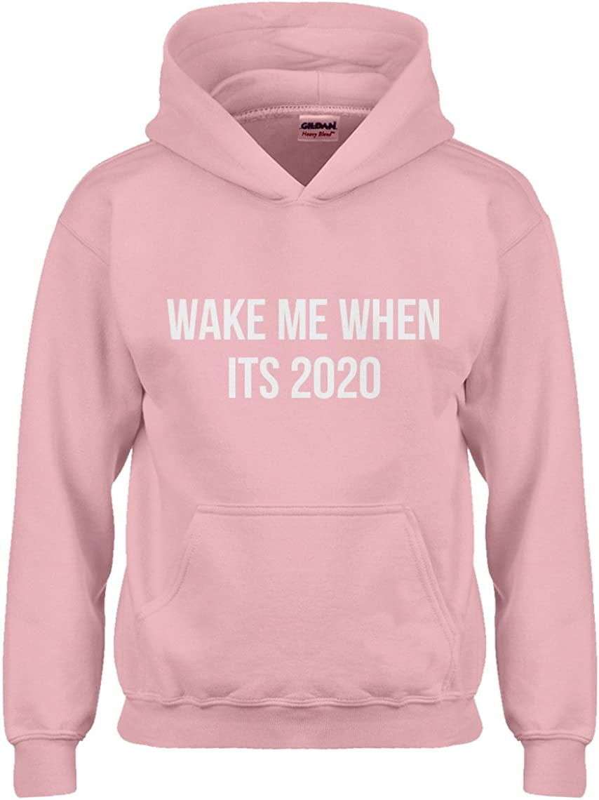Wake Me When its 2020 Hoodie for Kids