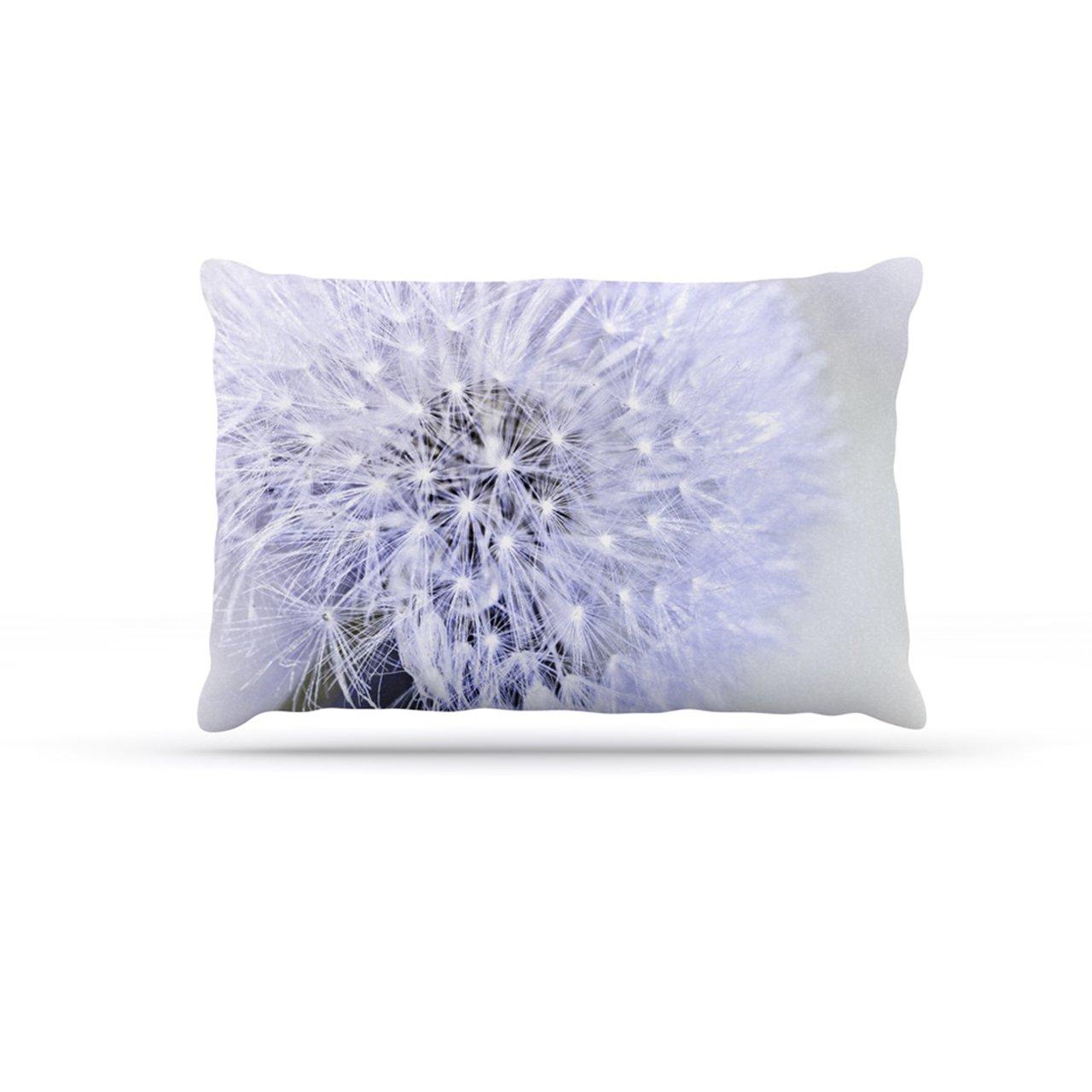 Large 30\ Kess InHouse Debbra Obertanec Lavender Wish  Purple Flower Dog Bed
