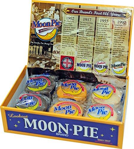 MoonPie Original Assorted Mini Collector's Box (Chocolate/Banana) ()