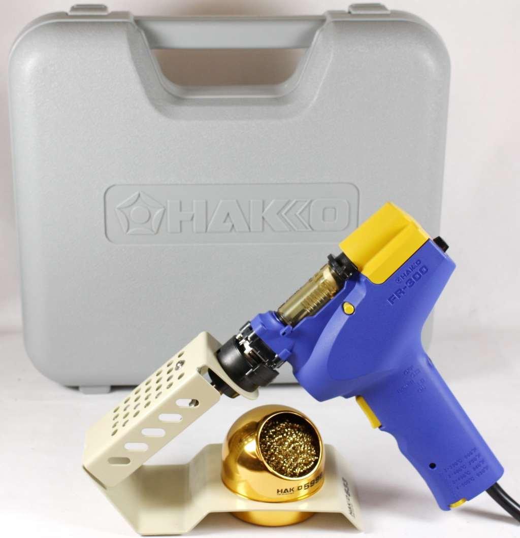 Hakko FR300-05/P (FR-300) Handheld Desolder Gun With 633-01 Holder