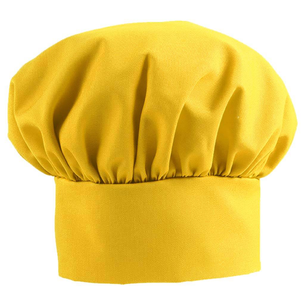 DayStar Apparel 850 Child Chef Hat (6 Pack), Yellow by DayStar Apparel