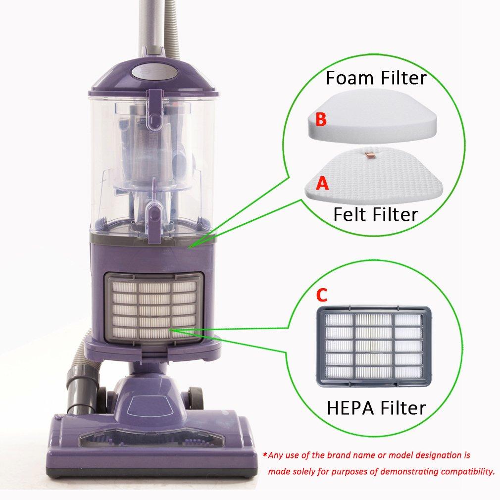 HEPA Post Filter For Shark XHF350 Shark Navigator Lift-away Vaccum NV350 NV370
