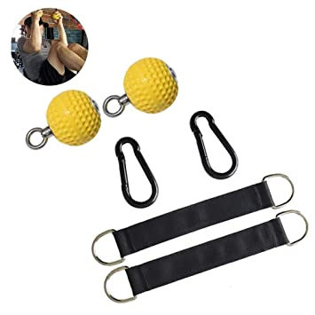 Rock Climbing Pull Up Power Ball Hold Grips con Correas ...