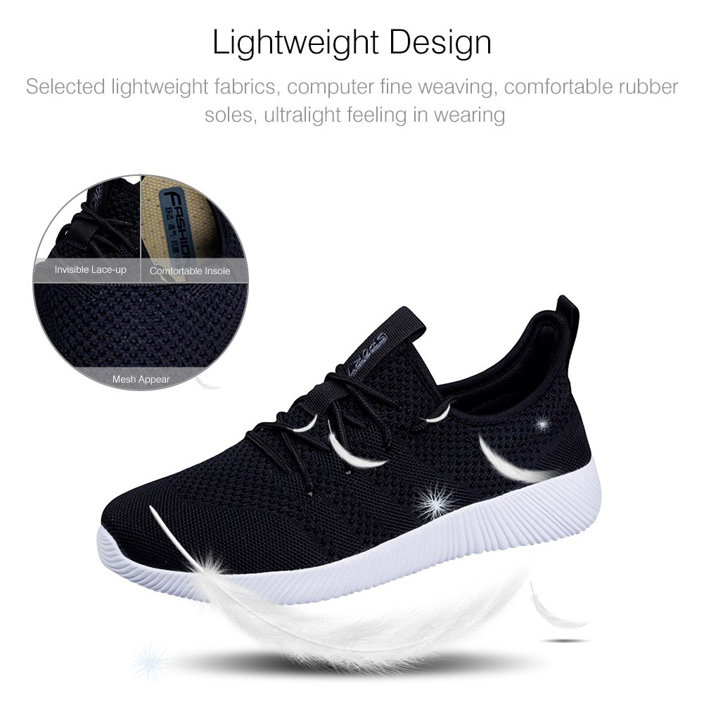 Kivors Men's Breathable Mesh Sneakers Gym Casual Shoes Slip-On Lightweight Outdoor Athletic Training Shoe