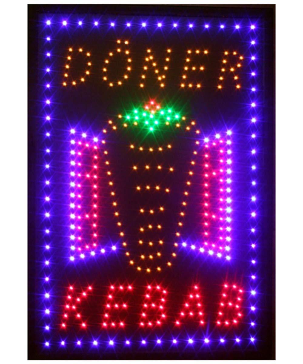 Cafe to go LED Schild Leuchte Display Leuchtreklame Reklame Leuchtschild Werbung