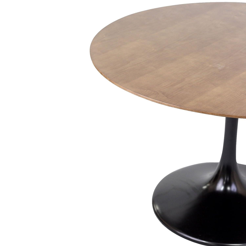 Amazoncom Modway Eero Saarinen Style Tulip Dining Table In - Walnut tulip dining table