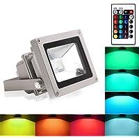 Blinngo 10W RGB Foco LED Proyector de Exterior