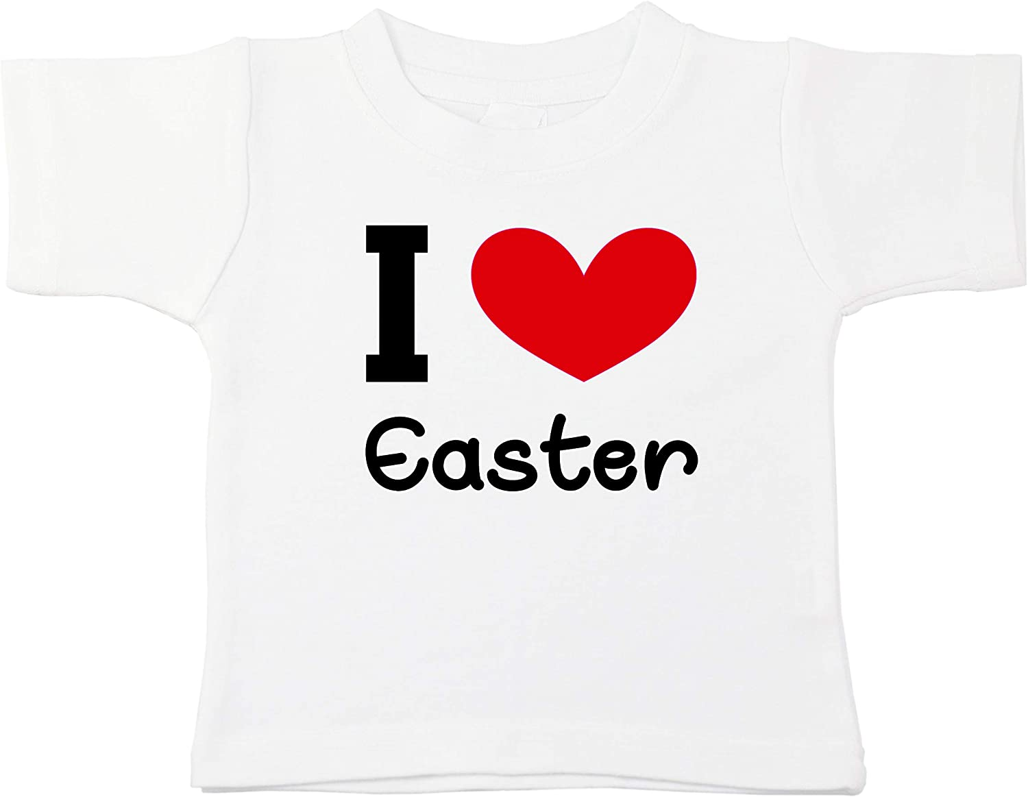 Kinacle I Love Easter Personalized Baby//Toddler T-Shirt