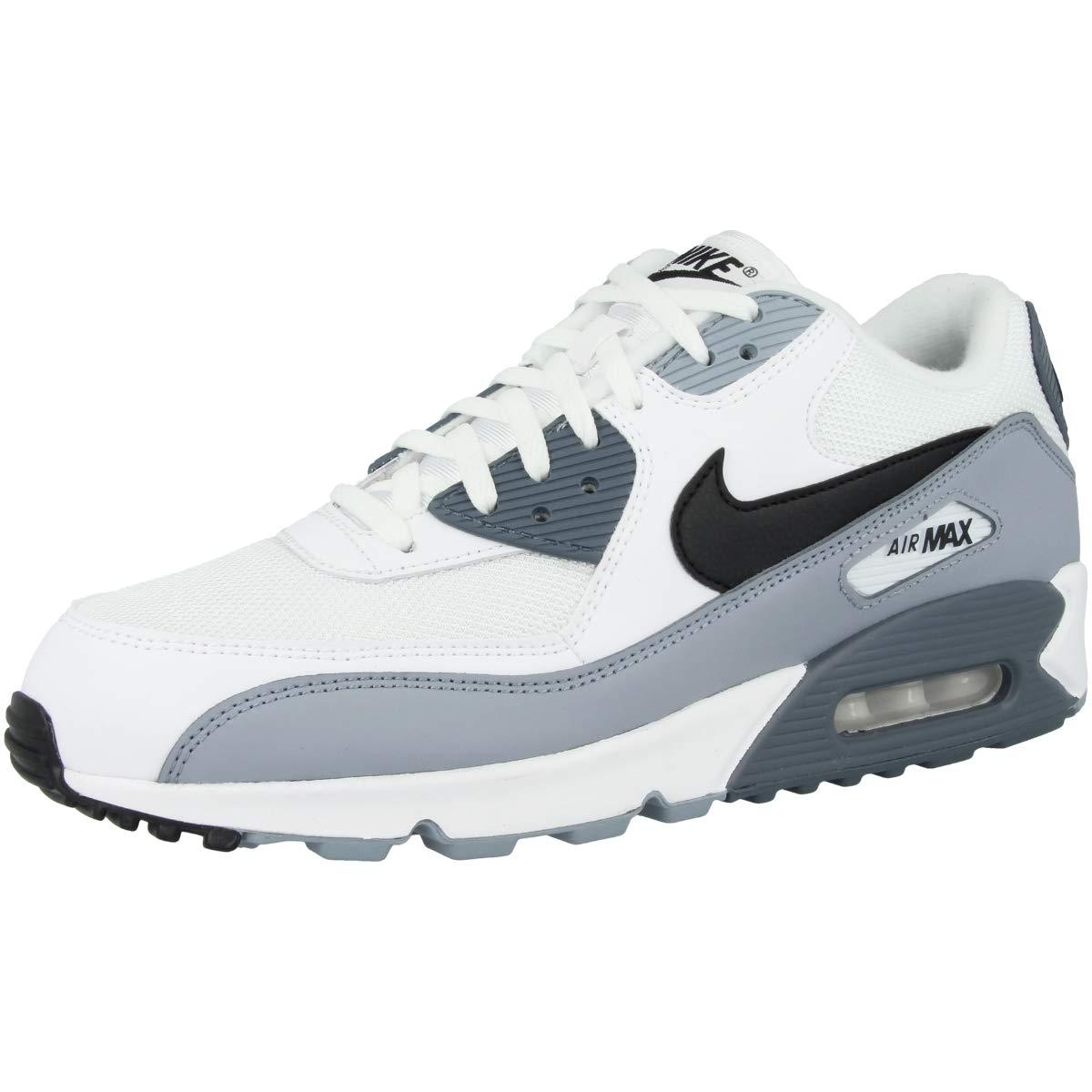 Details zu Nike Air Max 90 Essential Sneaker Schuhe Herren AJ1285 108 Weiß