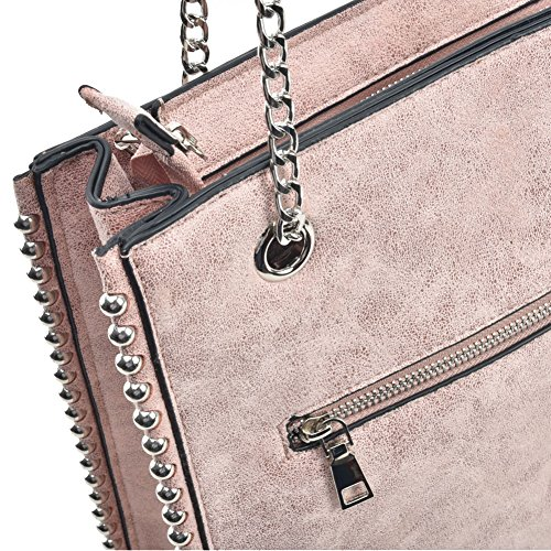 Women Long Handbag Chain Pink Handles Young Sally With Bag Hobo Fashion Shoulder EZqpwnA