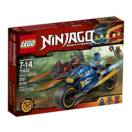 LEGO Ninjago Desert Lightning 70622 Building Kit (201 Piece)