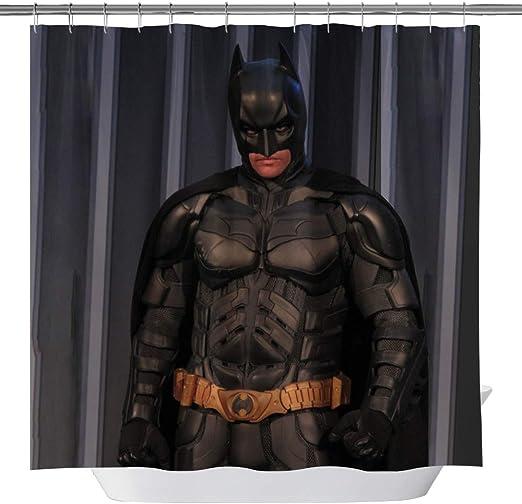 Batman Rideau de Douche Imperméable Tissu De Polyester Bain Rideau pour le bain