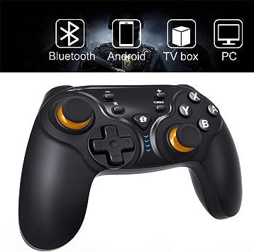 Mando inalámbrico para Nintendo Switch, Mando de Juego inalámbrico EXTSUD de 6 Ejes Somatosensory con Mando de Gamepad de Doble vibración Tipo C USB para Nintendo Switch/Android/PS3/TV Box: Amazon.es: Electrónica