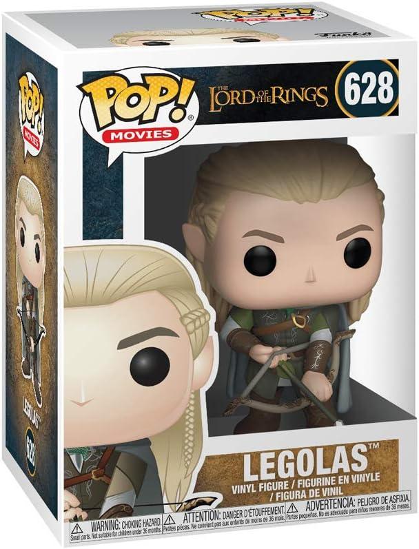 """El Señor De Los Anillos Legolas 3.75/"""" POP VINILO FIGURA FUNKO 628 Pop Películas"""