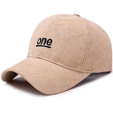 5a29dfe47897c Amazon.com: Embroidery Hats Men and Women Woolen Baseball Caps ...