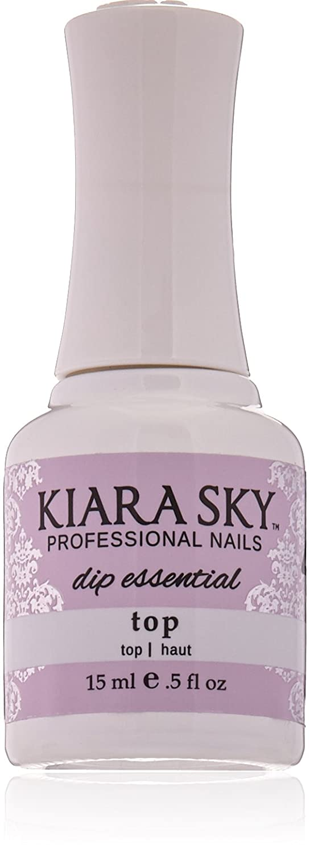 KIARA SKY DIP ESSENTIALS TOP 15ML/0.5OZ Kiara Sky Professional Nails KIASTEP4