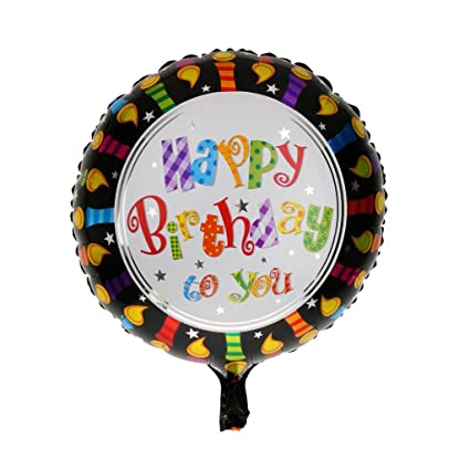 Buy Theme My Party Happy Birthday Foil Balloon Online At Low Prices In India