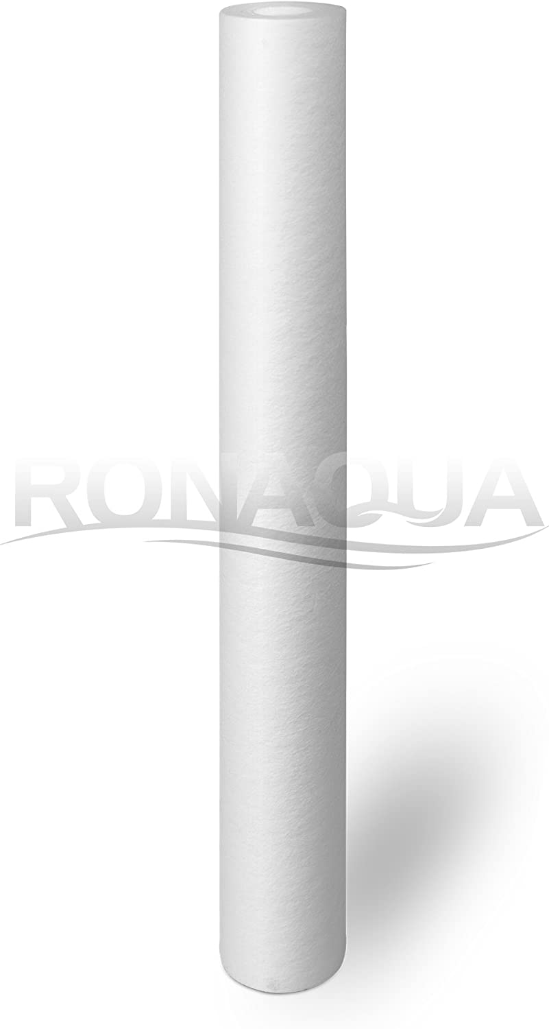 Ronaqua 20 x 2.5 Replacement Water Filters Cartridges Sediment CTO Block /& GAC for 20 Inch Whole House System