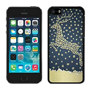 MMZ DIY PHONE CASEPersonalized iphone 6 4.7 inch TPU Case Christmas Deer Black iphone 6 4.7 inch Case 12