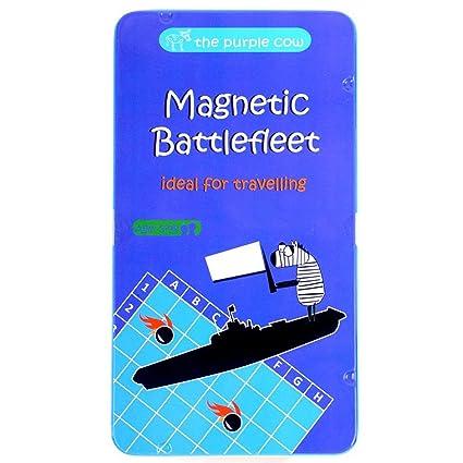 amazon com magnetic travel battlefleet game the classic strategy