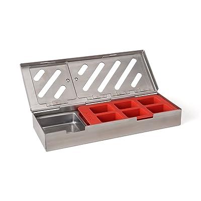 Taylor Precision Products 849GW Durable Grill Smoker Box (3 Piece) : Garden & Outdoor