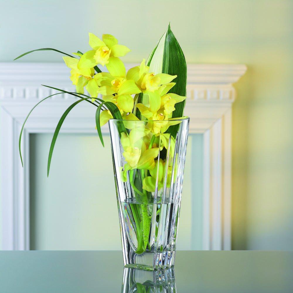 Amazon nachtmann art deco 11 inch crystal vase home kitchen reviewsmspy