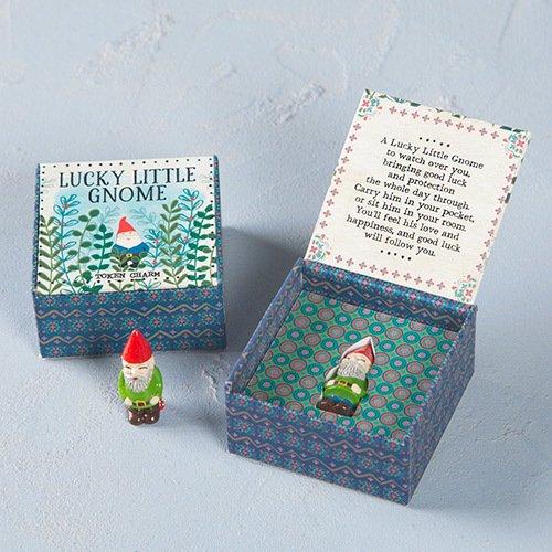 Natural Life Lucky Token Charm (Lucky Gnome)